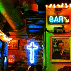 Photo taken at Sister Louisa's Church of the Living Room and Ping Pong Emporium by Jonathon Q. on 6/2/2013