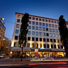 Photo taken at Fleming's Hotel München City by Fleming's Hotel München City on 2/10/2014