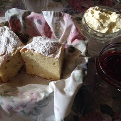 Photo taken at Miss Marple's Tea Room by Annie L. on 9/13/2014