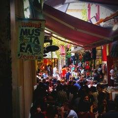 Photo taken at Kahveci Mustafa Amca Jean's by Selman B. on 9/18/2013