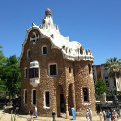 Photo taken at Park Güell by Erman E. on 6/13/2013