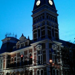 Photo taken at Bartholomew County Courthouse by Kristopher W. on 12/1/2012