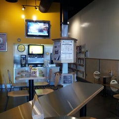 Photo taken at Which Wich? Superior Sandwiches by Julie G. on 10/4/2013