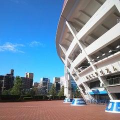 Photo taken at 横浜スタジアム (YOKOHAMA STADIUM) by Wataru H. on 10/24/2012