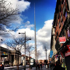 Photo taken at The Spire of Dublin / An Túr Solais by Ana Carla C. on 2/17/2013