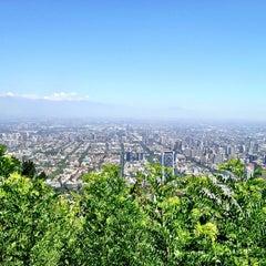 Photo taken at Parque Metropolitano de Santiago by Leonardo M. on 1/3/2013