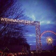 Photo taken at Weihnachtsmarkt am Roten Rathaus by Markus  on 12/29/2012