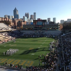 Photo taken at Bobby Dodd Stadium by Bigfeat (AKA Stephen Gilkenson) on 11/17/2012