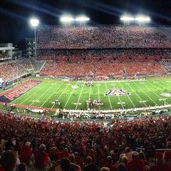 Photo taken at Arizona Stadium by Andrew G. on 9/15/2013