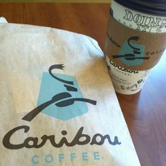 Photo taken at Caribou Coffee by Montaign G. on 1/21/2013