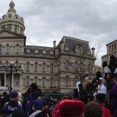 Photo taken at Baltimore City Hall by Peter C. on 2/5/2013