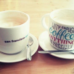 Photo taken at San Francisco Coffee Company by Sarah H. on 1/2/2015