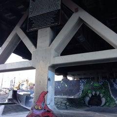 Photo taken at Burnside Skate Park by Jason M. on 11/2/2014