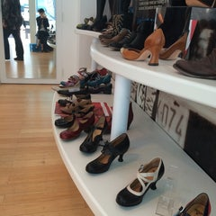 Photo taken at John Fluevog Shoes by Janny said what? J. on 8/7/2014