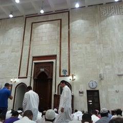 Photo taken at جامع أبي بكر الصديق by Yacine H. on 6/21/2013