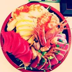 Photo taken at Octopus Sushi Bar & Thai by Germaine W. on 3/17/2013