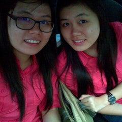Photo taken at Universitas Prima Indonesia by Christine S. on 9/24/2012