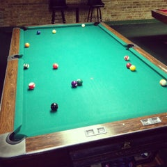 Photo taken at Chicago Billiards Cafe by Isaac on 12/24/2012