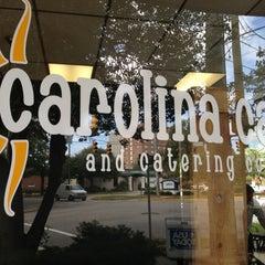 Photo taken at Carolina Cafe by Ryal C. on 10/18/2012