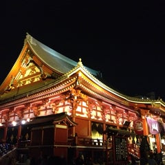Photo taken at 浅草寺 (Sensō-ji Temple) by Tomoaki M. on 5/18/2013