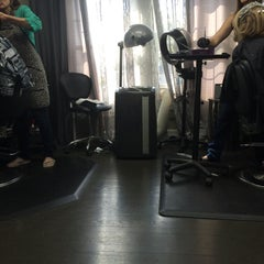 Photo taken at Augusta Place Salon by Lisa G. on 5/14/2015