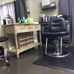 Photo taken at Augusta Place Salon by Lisa G. on 8/13/2014