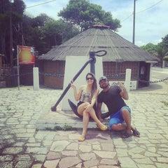Photo taken at Cabo Branco by Maria Eduarda A. on 4/19/2015