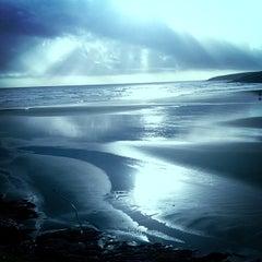 Photo taken at Inchydoney Beach by Pat C. on 12/16/2012