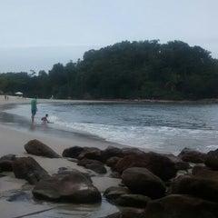Photo taken at Praia das Conchas by Priscila C. on 10/17/2014