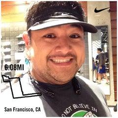 Photo taken at Niketown SF Run Club by James G. on 10/31/2013