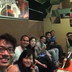Photo taken at NAV Karaoke Keluarga by Meity M. on 1/9/2015