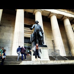 Photo taken at Federal Hall National Memorial by Nikelii B. on 9/17/2012