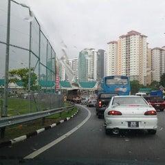 Photo taken at Plaza Tol Subang by Bard A. on 12/1/2012