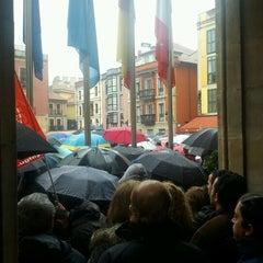 Photo taken at Plaza del Ayuntamiento by Ismael C. on 2/19/2012
