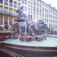 Photo taken at Place des Terreaux by Denis B. on 3/28/2013