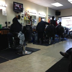 Photo taken at Bigga League Barber Shop by Bill B. on 11/4/2012