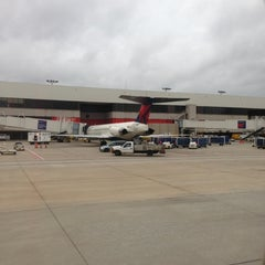 Photo taken at Concourse A by Bill B. on 12/10/2012