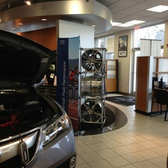 Photo taken at Curry Acura by Bill B. on 2/27/2013