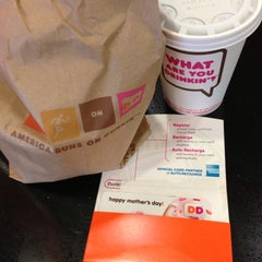 Photo taken at Dunkin Donuts by Bill B. on 5/12/2013