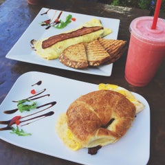 Photo taken at Angelina's Coffee & Yogurt by Ria M. on 10/27/2015