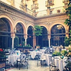 Photo taken at Hotel Alfonso XIII by Adriana V. on 5/29/2013