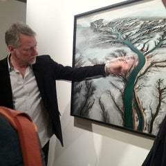 Photo taken at Rena Bransten Gallery by Crippie J. on 11/8/2013
