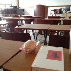 Photo taken at 이화여자대학교 음악관 (Ewha Womans University Music Building) by Jieun on 11/6/2012