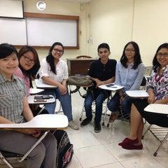 Photo taken at Perbanas Institute by Dewi S. on 4/15/2014