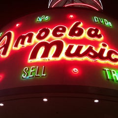 Photo taken at Amoeba Music by Edward S. on 9/28/2012