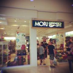 Photo taken at Mori Luggage & Gifts by J.S. C. on 3/18/2013