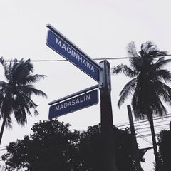 Photo taken at Maginhawa Street by Paul R. on 8/31/2015