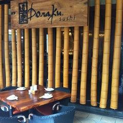 Photo taken at Doraku Sushi by Danielf P. on 4/13/2013