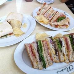Photo taken at O'Briens Irish Sandwich Bar by Zephyr L. on 8/15/2013
