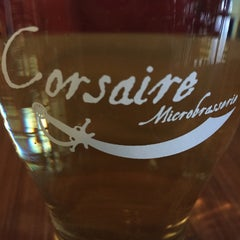 Photo taken at Corsaire Microbrasserie by Sam L. on 4/21/2015